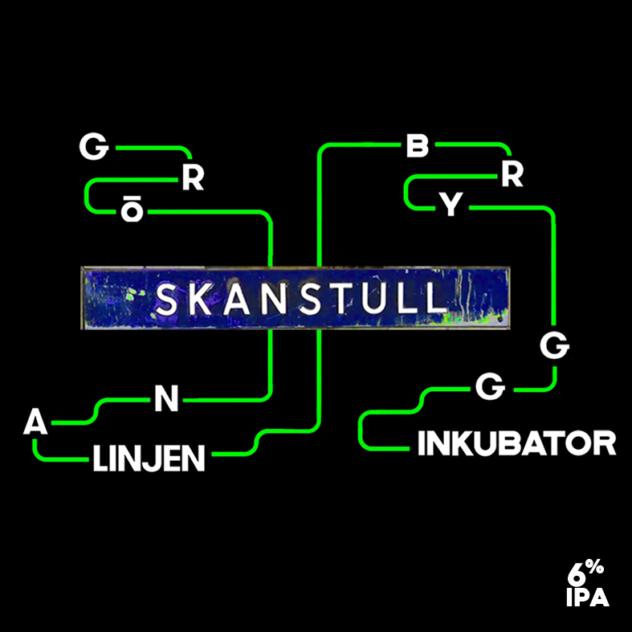 Skanstull label sq